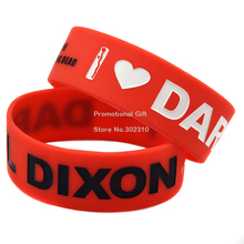 The Walking Dead 1″ Wide Silicon Daryl Dixon Wristband