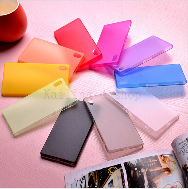 For sony Z2 L50W 0.3mm Ultra thin phone case Perfect Design matte Case Cover For Sony Xperia Z2 D6503 Cover Skin Shell(China (Mainland))