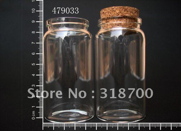 (DHL)Free Shipping -100ml empty glass bottle with cork, cork stoppered bottle, glass jar,used for storage, craft<br><br>Aliexpress