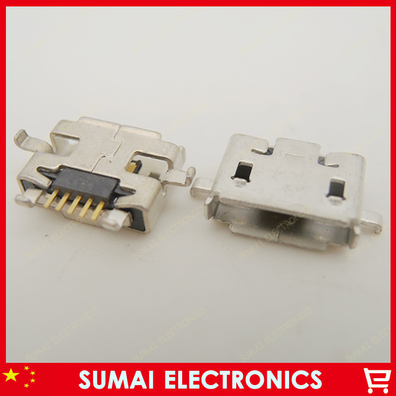 300pcs/lot Mobile Phone Data Port Socket Micro USB USB Jack for XIAOMI 1S Free Shipping<br><br>Aliexpress