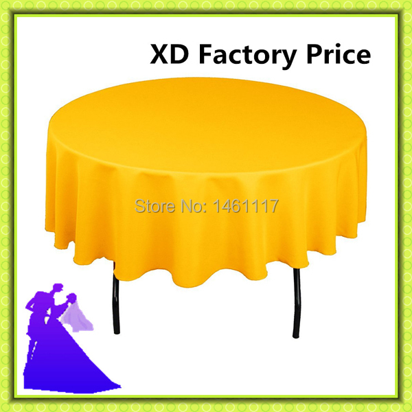 "70"" hot selling factory price wedding decoration colorful polyester table cloth(China (Mainland))"