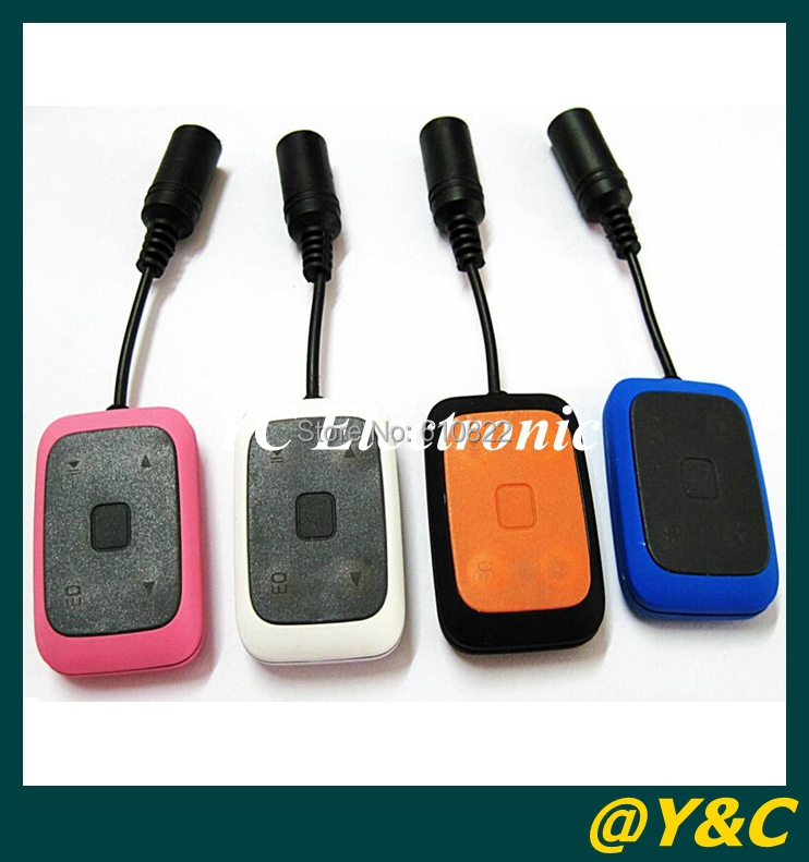 4GB 100% Full Sport Waterproof MP3 Player for Water Resistant IPX8 4GB Sport FM MP3 Player for Swimming/Surfing(China (Mainland))