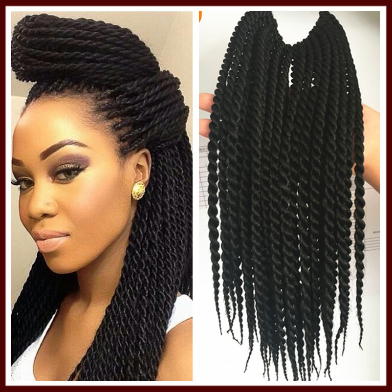 12in 30Roots Crochet Braid Small Havana Mambo Twist Hair Extensions ...