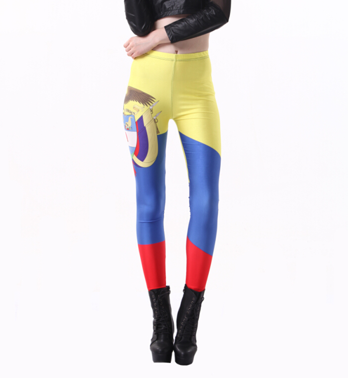 Spring-2014-Cheer-World-Cup-Legging-Flag-of-Colombia ...