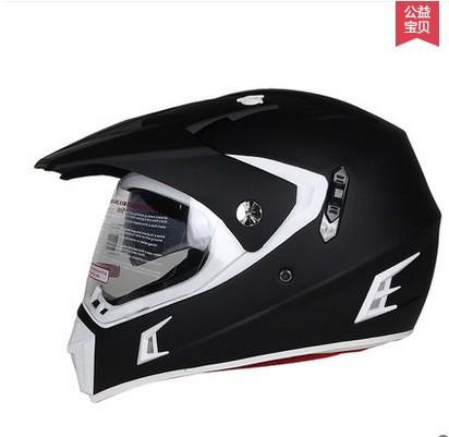 Men and women road motocross helmet helmet full helmet winter cross-country anti-fog double lens helmet Summer Helmet