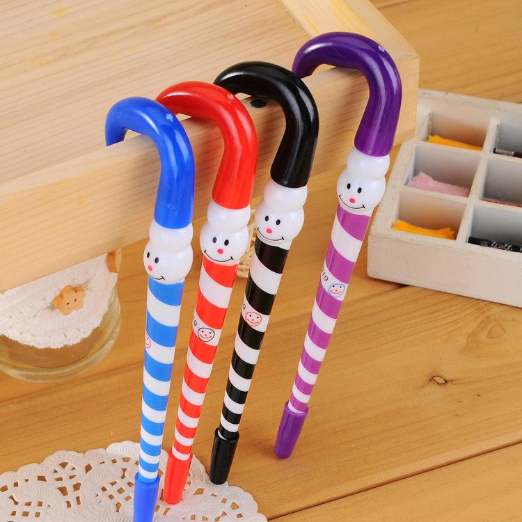 100 Pieces/Lot Ball Point Pen Cute Stationary School Accessories Plastic Pens papeleria escolar Papelaria Kawaii office gadgets(China (Mainland))