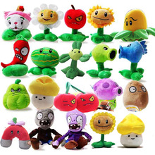 20 Styles Plants vs Zombies Plush Toys 12-28cm Plants vs Zombies Soft Stuffed Plush Toys Doll Baby Toy for Kids Gifts Party Toys(China (Mainland))
