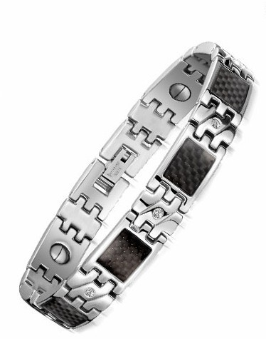 10MM Wide Friendship Mens Bracelets Health Magnetic Stainless Steel Male Jewelry Accessories Bracelet Energy Bangles Wristband - Fully Trusty store