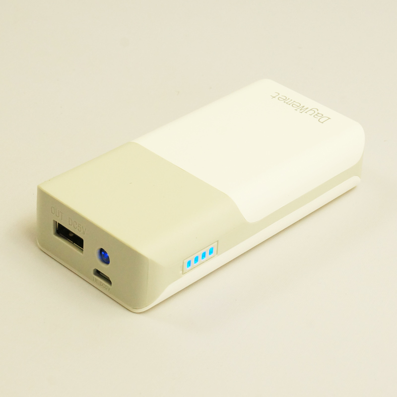 DAYWEMET 5200mAh Portable Battery Mobile Power Bank USB Charger 18650 Lithium battery cell with LED Indicator For Smartphone(China (Mainland))