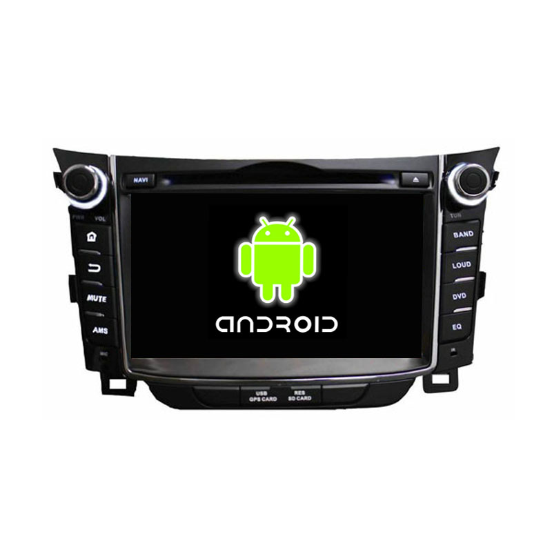 ROM 16G Quad Core 1024*600 Android 5.1.1 Fit HYUNDAI I30 2011 2012 2013 Car DVD Player Navigation GPS TV 3G Radio Bluetooth(China (Mainland))