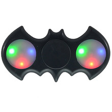 Buy Batman LED Light Fidget Spinner Finger Hand Spinner Autism ADHD Relief Focus Anxiety Stress Spiner Toys for $1.91 in AliExpress store