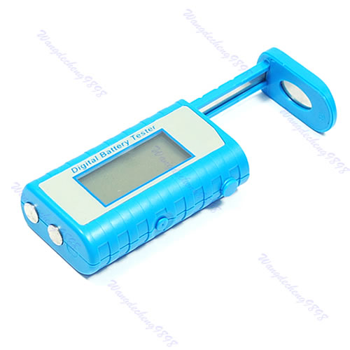Гаджет  Free Shipping Digital Battery Tester Checker AA AAA C D 9V Button New  None Инструменты