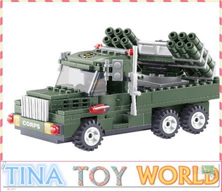 Free shipping 237pcs/set Military Series Educational Jigsaw DIY Construction Bricks Toys For Children(China (Mainland))