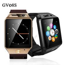 Gv08s Bluetooth Smartwatch человек SIM Reloj Moviles android-автомобильный Montre разъема смарт Relogio для Samsung Huawei телефоны PK GV18 / Lf07