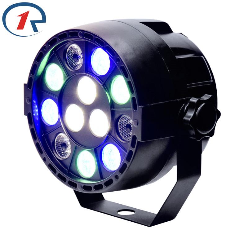 ZjRight DMX control RGBW LED par light 15W LED stage lighting Disco KTV dj light Bar Equipment projector full color lighting(China (Mainland))