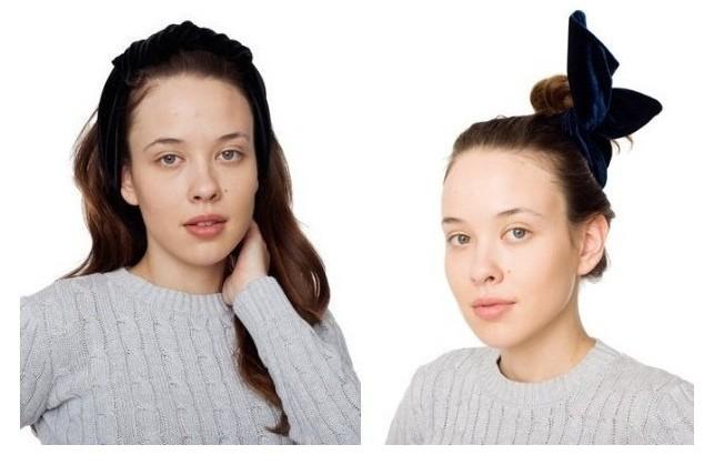 Cute Velvet Bunny Wire Wrap Headband Hair Band Women Girls Hair Accessories Turban  Bandage On Head Bandana