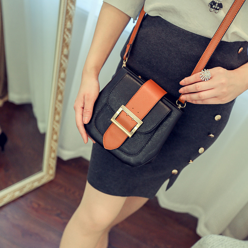 mini women leather phone bag ladies small messenger bags for girls teenager shoulder chain sling crossbody bag female 3S6284(China (Mainland))