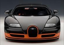 1:18 Autoart Bugatti Veyron BUGATTI VEYRON carbon fiber orange car model(China (Mainland))