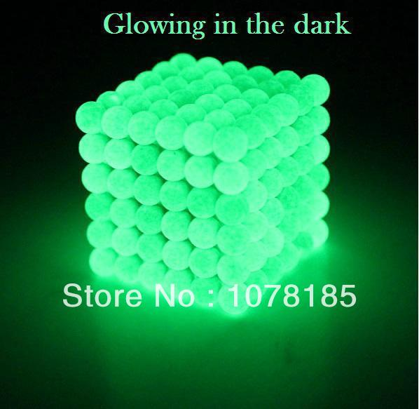 2014 216pcs 5mm buckyballs magnetic balls neocube cybercube magcube Packed at PVC box New Style Reflected color(China (Mainland))