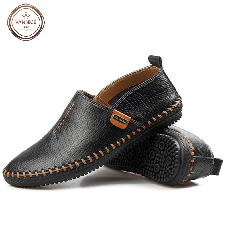2016 New Men Fashion Soft Driving Flats High Quality Summer Genuine Leather Slip On Luxury Brand Men Loafers mocasines hombre<br><br>Aliexpress