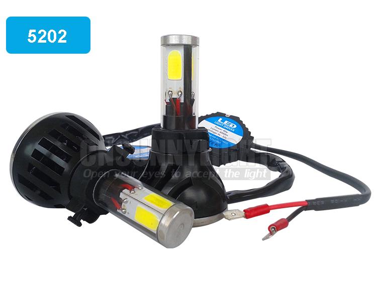 H4 H7 H13 H11 H1 9005 9006 COB LED Headlight 80W 8000LM Super Brigh Car LED Headlights Bulb Head Lamp Fog Light Pure White 6000K (3)