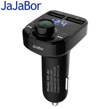 Buy JaJaBor Car MP3 Audio Player Bluetooth Car Kit FM Transmitter Handsfree Calling 5V 4.1A Dual USB Car Charger Phone Charger for $11.15 in AliExpress store