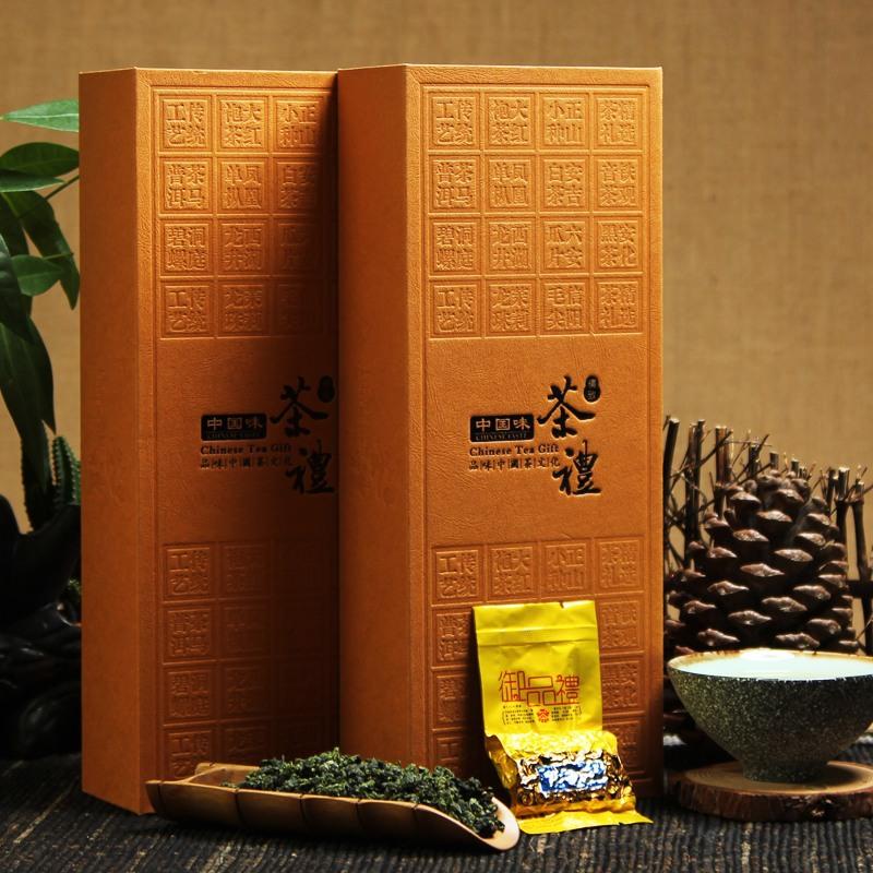 Clean Aroma Loose Oolong Tea Tieguanyin 250g, Gift Box Chinese Famous Tea Tie Guan Yin, Oolong Iron Guanyin Tea(China (Mainland))