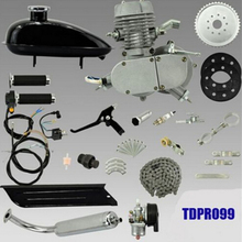 50cc 2-Stroke Motor Engine Kit for Motorized Bicycle Assembly Set Bike Gas Powered Silver/Black(China (Mainland))