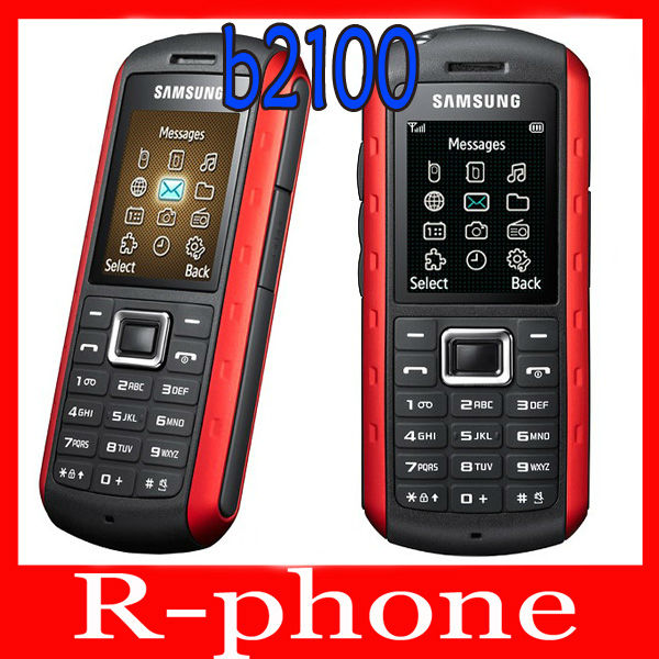 Original Samsung B2100 Mobile Phone Unlocked 2MP Bluetooth Refurbished B2100 Cellphone Russian Keyboard(China (Mainland))