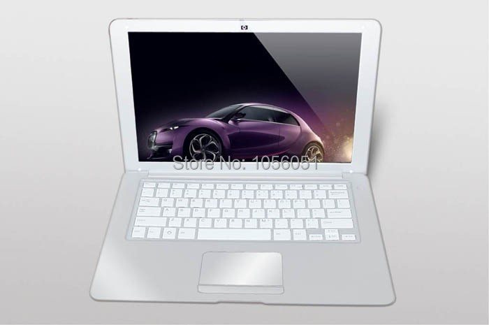 Silver laptops Ultrathin 13.3 inch Laptop & pc netbook computer buy cheap laptops in china(China (Mainland))