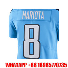 Men's Marcus Mariota #8 DeMarco Murray Light Blue Color Rush Limited Free Shipping(China (Mainland))
