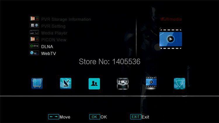 1PC Original V8S Satellite Receiver S V8 S-V8 Support WEBTV Biss Key 2x USB Slot USB Wifi 3G Youporn +1 month Wheel TV code