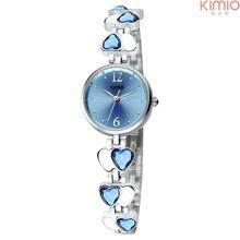 Hot Sales! Kimio Wristwatches Fashion Watch Girls Lady Quartz Watch Elegant Design Retro Bronze Watch Women
