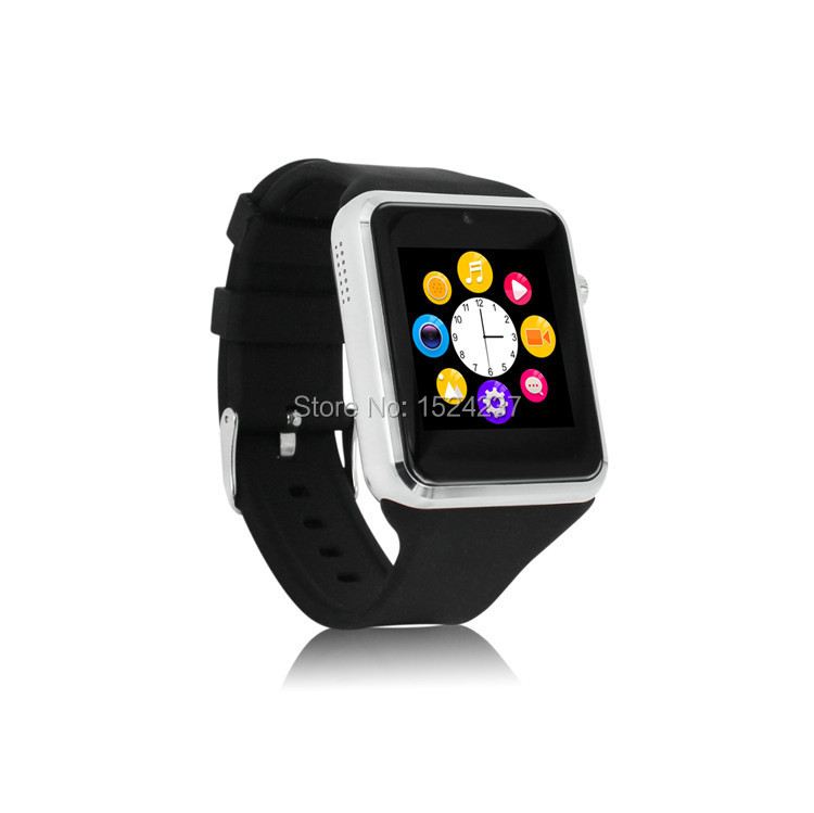 Cheap android bluetooth smartwatch phone GSM 850/900/1800/1900 fone watch FM Mp3/4 camera touch screen sync sport healthy watch(China (Mainland))