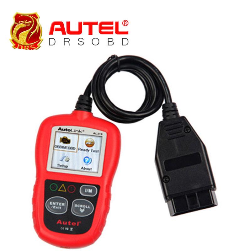 [Autel Distributor] Professional Auto diagnostic Code reader Autel AutoLink AL319 Cheapest AUTO scan tool Free Update Online(China (Mainland))