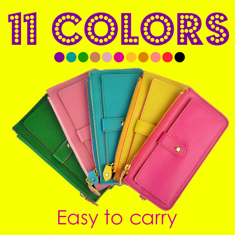 Women Wallet new Fashion Coin Holders Popular Ladies Purse MOQ 2pcs 12colors High Quality PU Women Wallet Time-limited Hand Bag(China (Mainland))