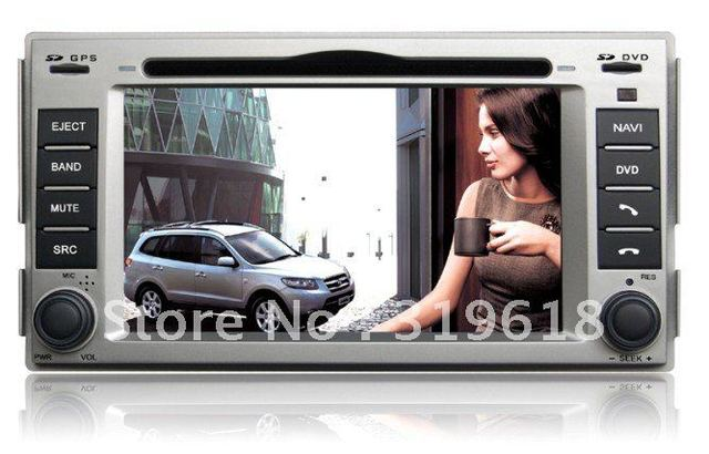2011 Hyundai New Santa Fe GPS Navigation/HD digital touchscreen/RDS/PIP/Built-in DVB-T optional