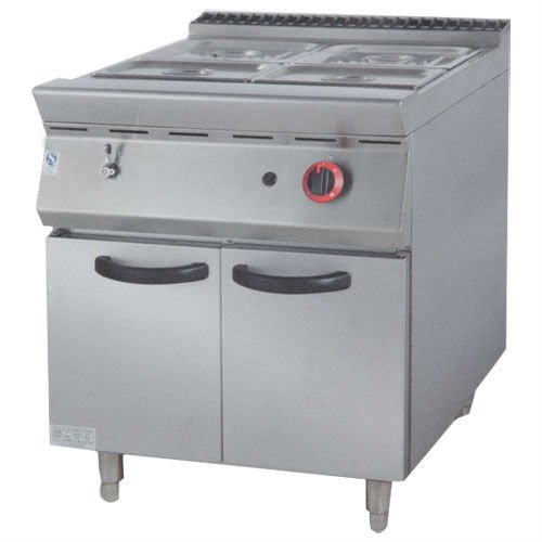 PK-JG-9842 Gas Bain Marie with Cabinet, 900 series, for Commercial Kitchen(China (Mainland))