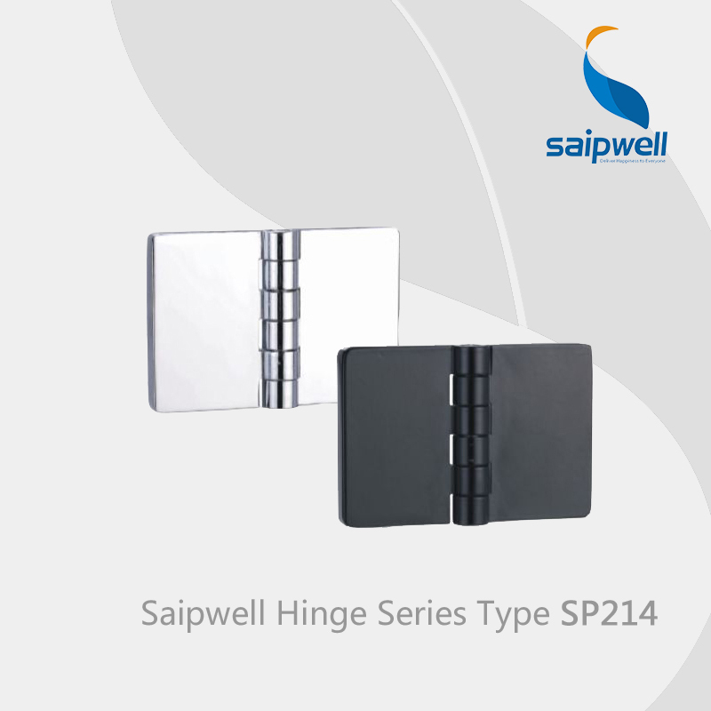 Saipwell SP214 zinc alloy hinges for doors swing display cabinet glass hinges adjustable gate hinges 10 Pcs in a Pack(China (Mainland))