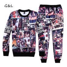 2016 men/women 3D print hip hop Jordan 23 emoji sport suits crewneck sweatshirts/ jogger pants/tracksuit running Jogging suit(China (Mainland))
