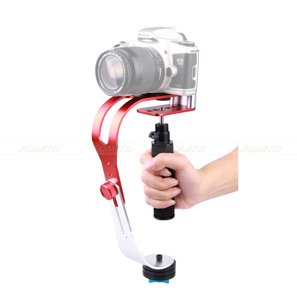 Fomito Hand held Video Steady Cam Stabilizer Adapter Holder for HD Digital Camera Gopro Hero 3