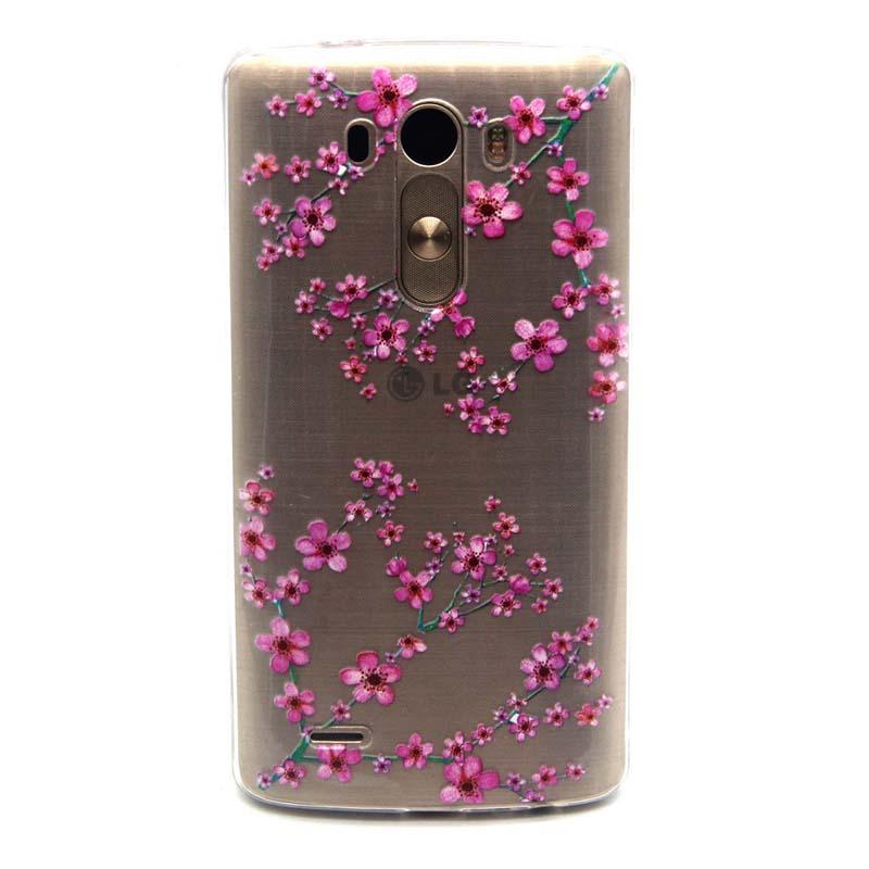 2016 New Flower Dandelion Girl Fashion Soft TPU Mobile Phone Bag Phone Case Cover For LG G3 D855 Case KS1484(China (Mainland))