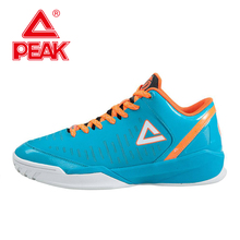 PEAK SPORT Tony Parker II Simple Edition Men Basketball Shoes Wear-resistant Competitions Sneaker Athlet Bas Boots EUR 40-47(China (Mainland))
