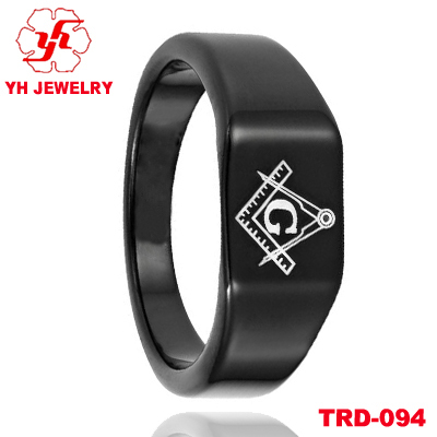 Freemason Rings Tungsten Masonic Tungsten Rings 8mm