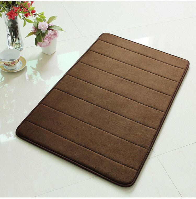 Full Floor Bathroom Rugs : Brown rug for living room bathroom rugs