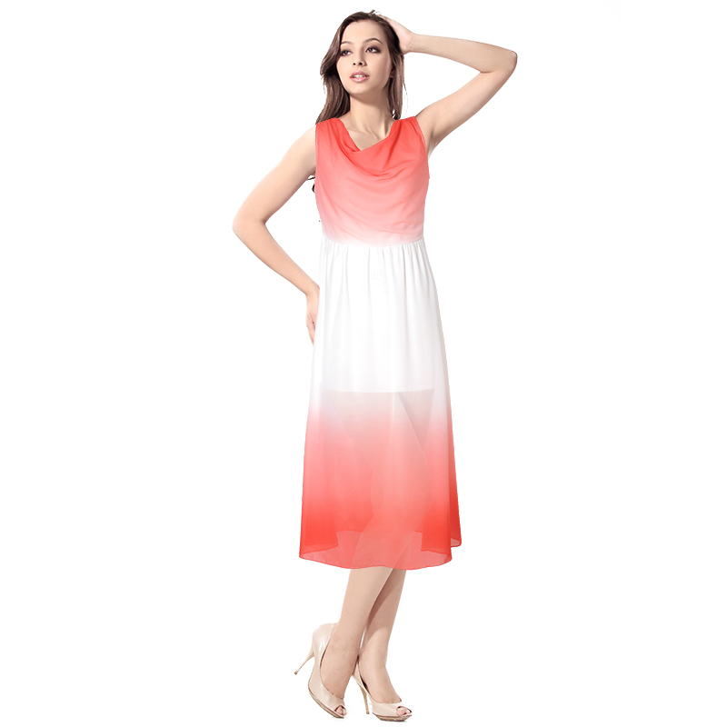 Solid Maxi Dress Plus Size Elegant Dress Plus Size