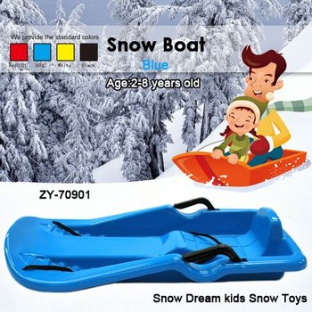Free Shipping Hot sale kids winter outdoor Christams snow sleigh-- 40SET/lot