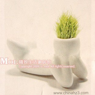 10pcs/lot Creative Gift Plant Hair man Plant Office Mini Plant Fantastic Home Decor, Valentine's day/ Easter Gift Best Selling