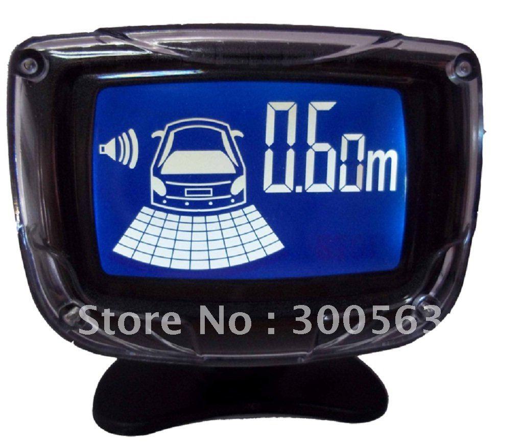 Здесь можно купить  Free shipping 4 Sensors Car Parking sensor,LCD Display Parking Reverse,1 buzzer,Back up System,parking Radar,2 CPU power  Автомобили и Мотоциклы