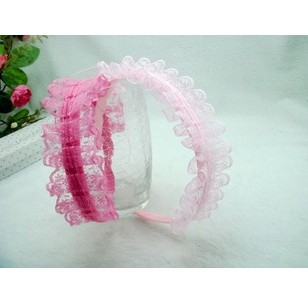 Freeshipping!New Girls/Kids/Infant/Baby princess lace hairclamp / Hairclips&band/Hairpins/headwear/Accessories,WJF087 - Vifa (mamufacturer store baby&bride headwear Center)